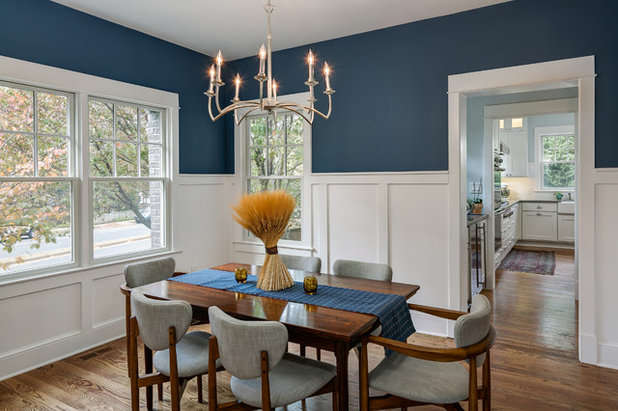 Traditional Dining Room by Moser Architects PLLC
