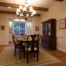 Traditional Dining Room by Stone Acorn Builders