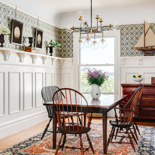 75 Transitional Dining Room Design Ideas - Stylish Transitional ...