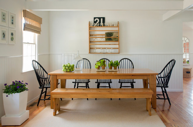 Beach Style Dining Room by kelly mcguill home