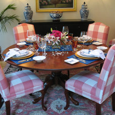 Traditional Dining Room by Michelle Jacoby, Changing Spaces