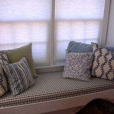 Traditional Dining Room Cape Cod Windowseat