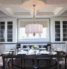 traditional dining room by Enviable Designs Inc.