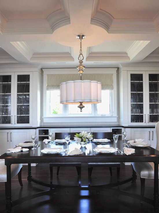 dining room drum shade | houzz