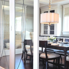 Transitional Dining Room by Enviable Designs Inc.