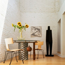 Contemporary Dining Room by Mary Douglas Drysdale
