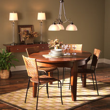 Traditional Dining Room by 1800Lighting