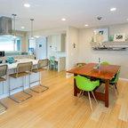 Lake House - Beach Style - Kitchen - Atlanta - by Yvonne McFadden LLC