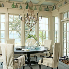 Traditional Dining Room by Our Town Plans