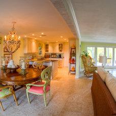 Tropical Dining Room by GH3 Enterprises LLC