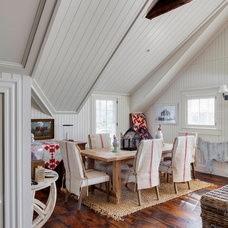 Beach Style Dining Room by Patrick Ahearn Architect
