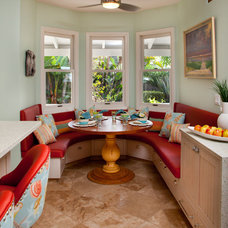Tropical Dining Room by Laurie Stevens Design