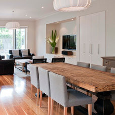Contemporary Dining Room by Key Piece