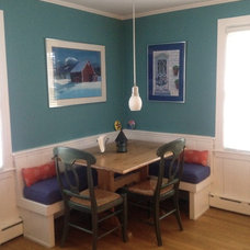 Eclectic Dining Room by Brenda Olde