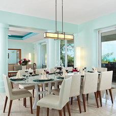 Contemporary Dining Room by On The Move Interiors