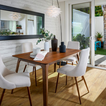 Carlsbad CA Mid-century modern home staging