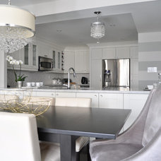 Contemporary Dining Room by Meredith Heron Design