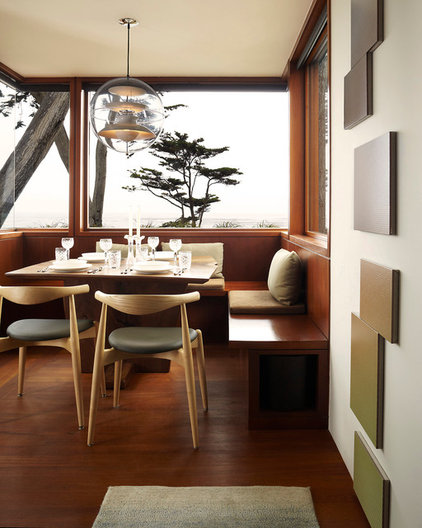 Modern Dining Room by Dirk Denison Architects