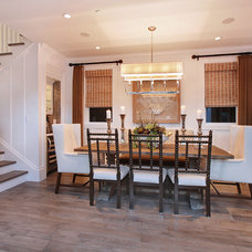 Traditional Dining Room by Brandon Architects, Inc.