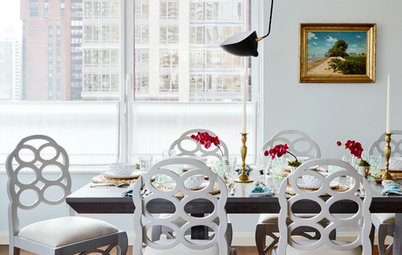 Manhattan Houzz Tour: A Chic Apartment Goes Bold With Colour