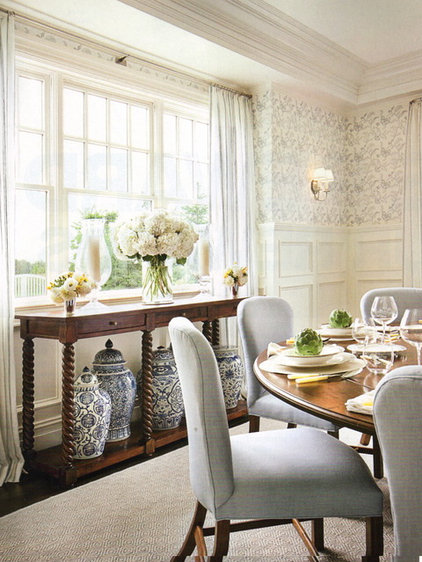 eclectic family room by Carol Vaughan-Davis