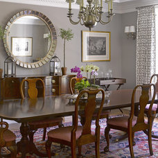 Traditional Dining Room by Carolyn Woods Design Inc.