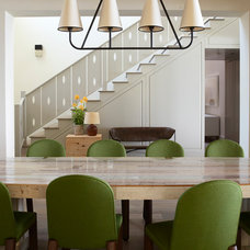 Contemporary Dining Room by The Office of Charles de Lisle