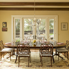Mediterranean Dining Room by Allen Construction