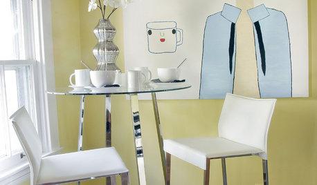 Как в кафе: 14 маленьких столовых в любом месте квартиры