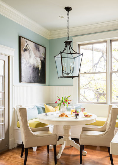 Traditional Dining Room by Louis Ashman Design