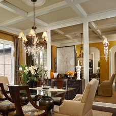 Traditional Dining Room by Eleni Interiors