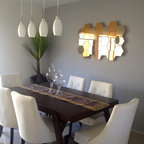 Formal Dining Room Contemporary Dining Room Dallas