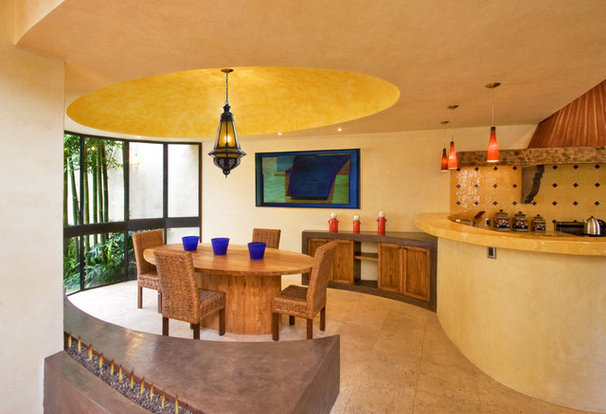 Southwestern Dining Room by House + House Architects