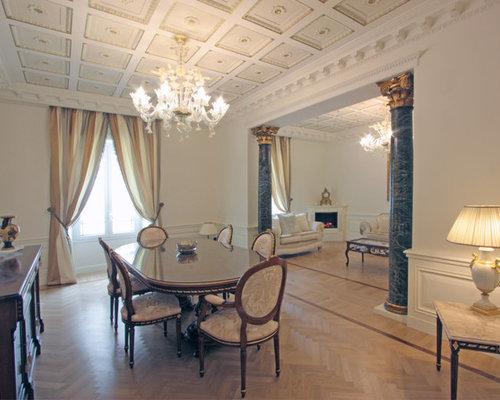 Sale da Pranzo aperte verso il Soggiorno - sala da pranzo aperta ...