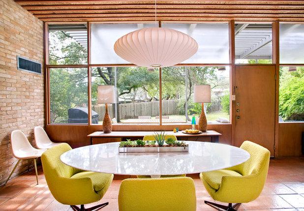 Retro Dining Room by Nest Modern