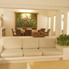 Mediterranean Dining Room Casa Rincón del Mar
