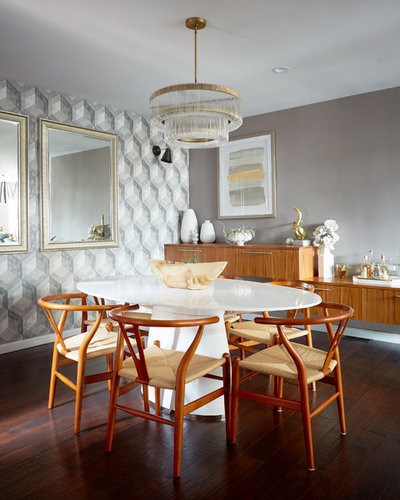 Contemporary Dining Room by Widell + Boschetti