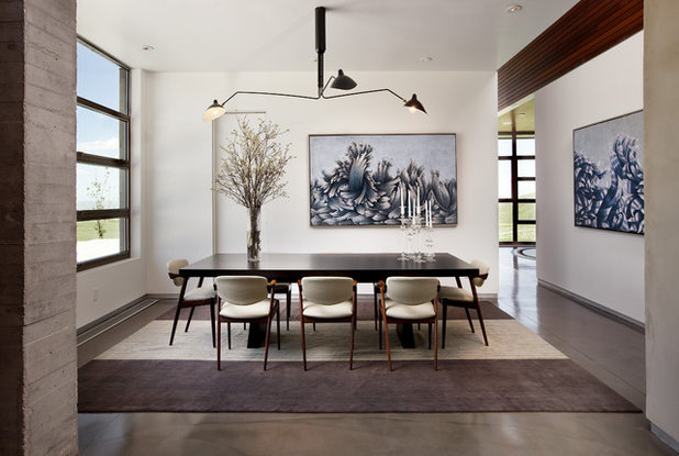 Modern Dining Room by Abramson Architects