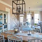 Santa Barbara Dutch Colonial Beach Style Dining Room