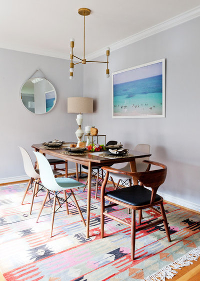 Contemporary Dining Room by Natalie Myers