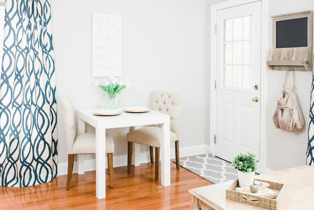 American Traditional Dining Room by Michaela Noelle Designs