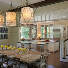traditional dining room by Splash Kitchens & Baths LLC