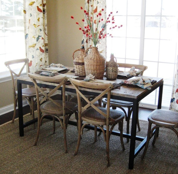 Traditional Dining Room by Design Zeal