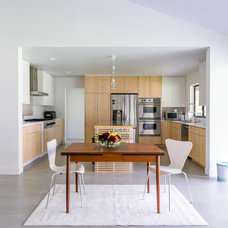 Contemporary Dining Room by Moss Yaw Design studio