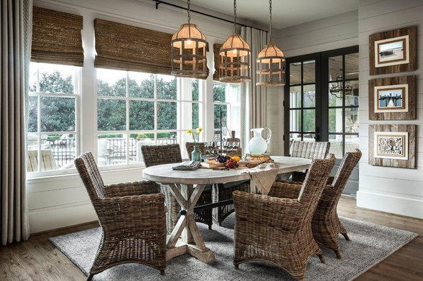 Farmhouse Dining Room By Outrageous Interiors