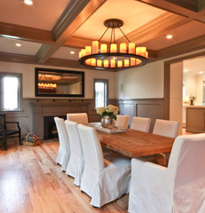 traditional dining room by Michael Robert Construction