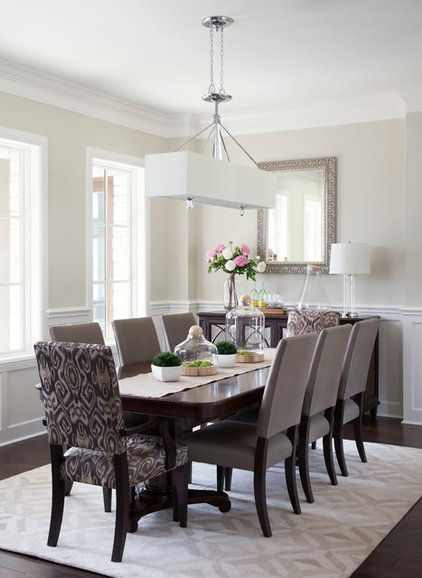 Traditional Dining Room by Natalie Howe Design