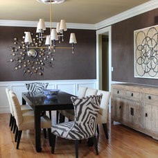 Contemporary Dining Room by Cure Design Group