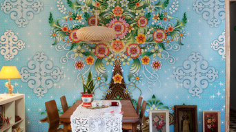 Catalina Estrada wall coverings for bloompapers
