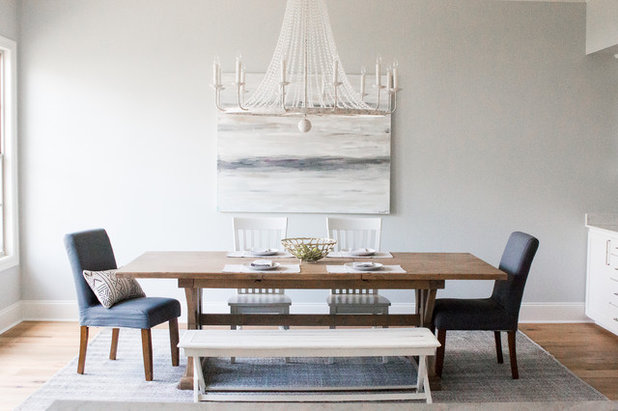 Beach Style Dining Room by Cherith Craft Interiors